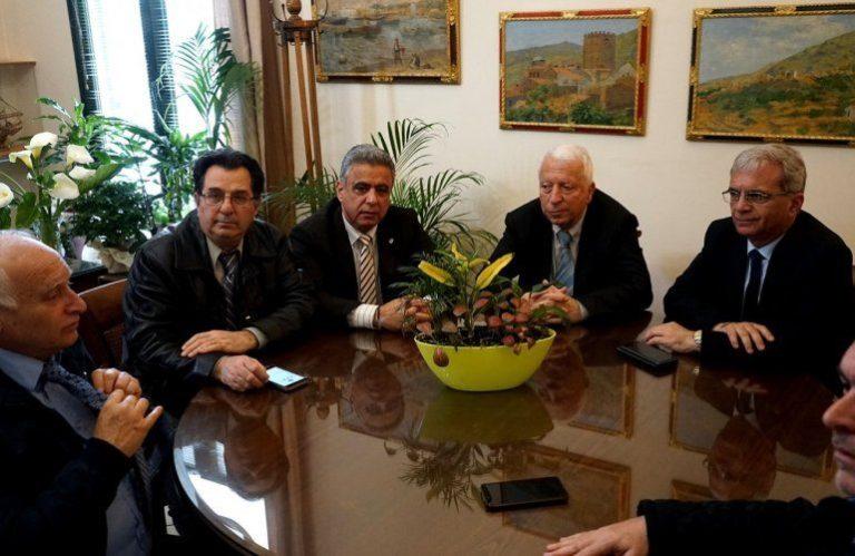 Περιφερειάρχης με Δήμαρχο Χίου και αντιπεριφερειάρχες για προσφυγικό- μεταναστευτικό